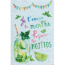 Carte à planter Mojito