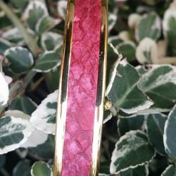 Bracelet Saumon Rouge