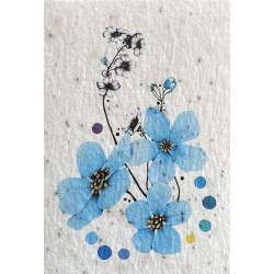 Carte A Planter Fleur Myosotis